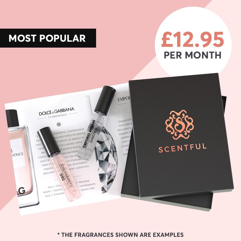 3 Month Surprise Perfume Subscription