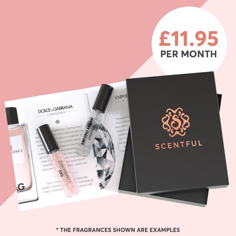 6 Month Surprise Perfume Subscription